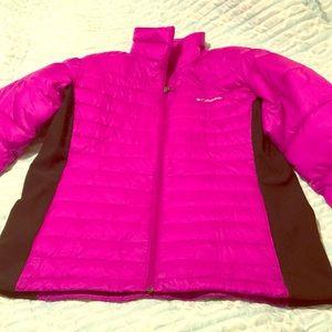 ❄️ Columbia Pink & Black Puffer Coat ❄️